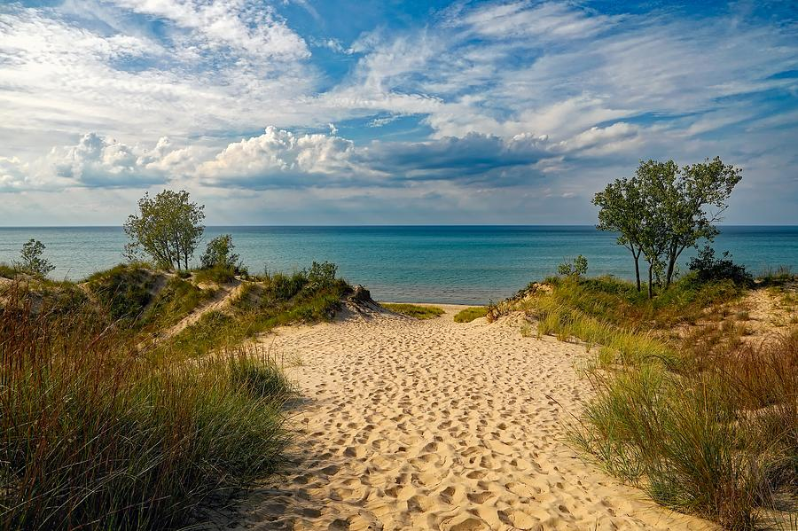 Lake Michigan Photograph - Indiana Dunes State Park by Mountain Dreams