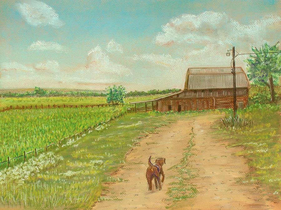 Indiana Painting - Indiana Farm by Dorothy Riley