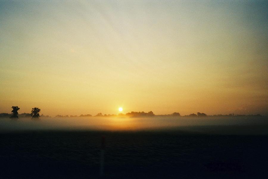 Landscape Photograph - Indiana Sunrise by Gene Linder