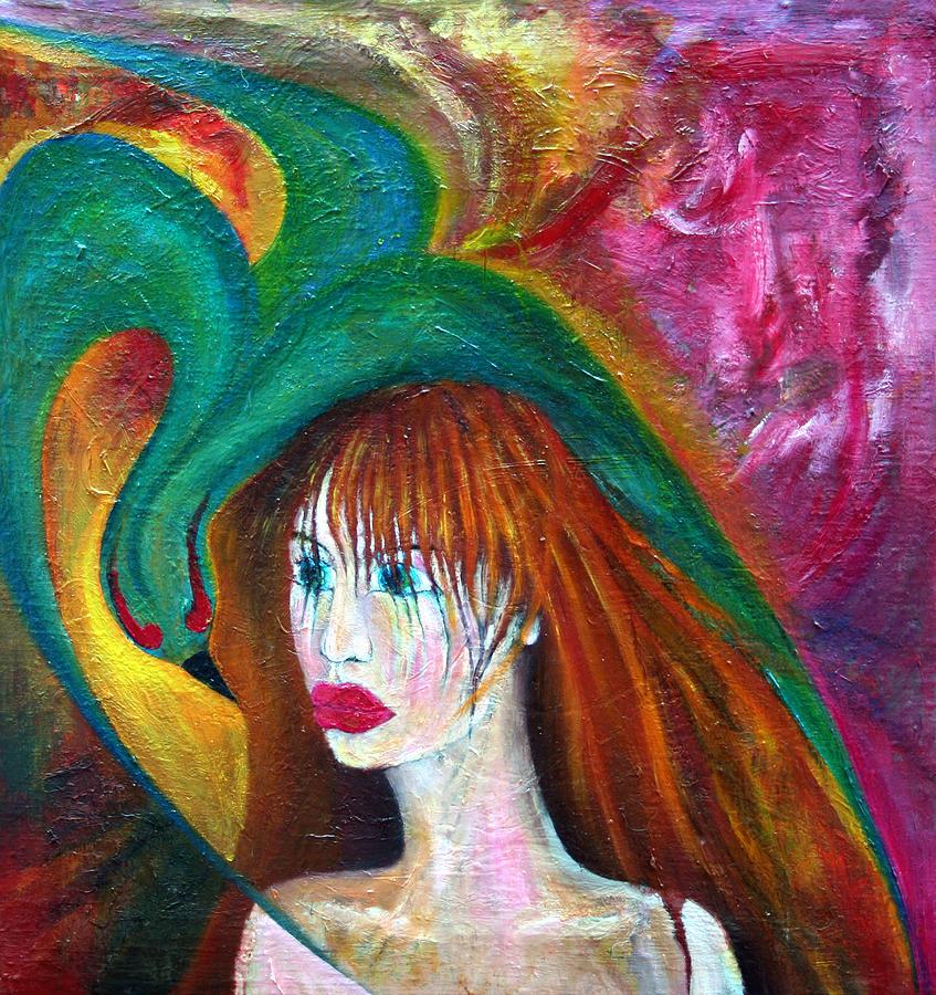 Imagination Painting - Indifference  by Wojtek Kowalski