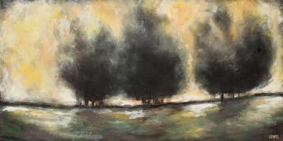 Landscape Painting - Indifferent by Ellen Lewis