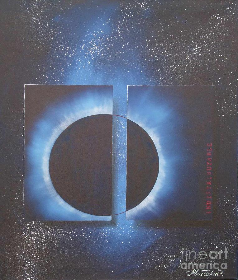 Paintings Painting - Indistributable by Jan Hmiro