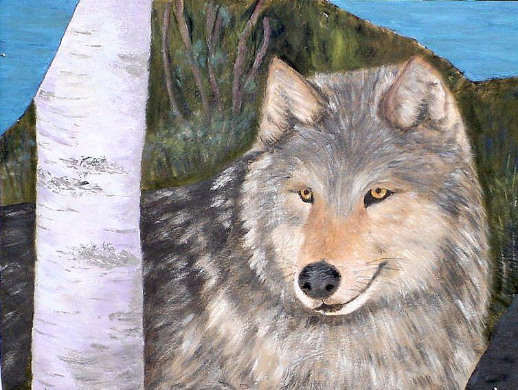 Wildlife Painting - Indomitable Spirit II by Merle Blair