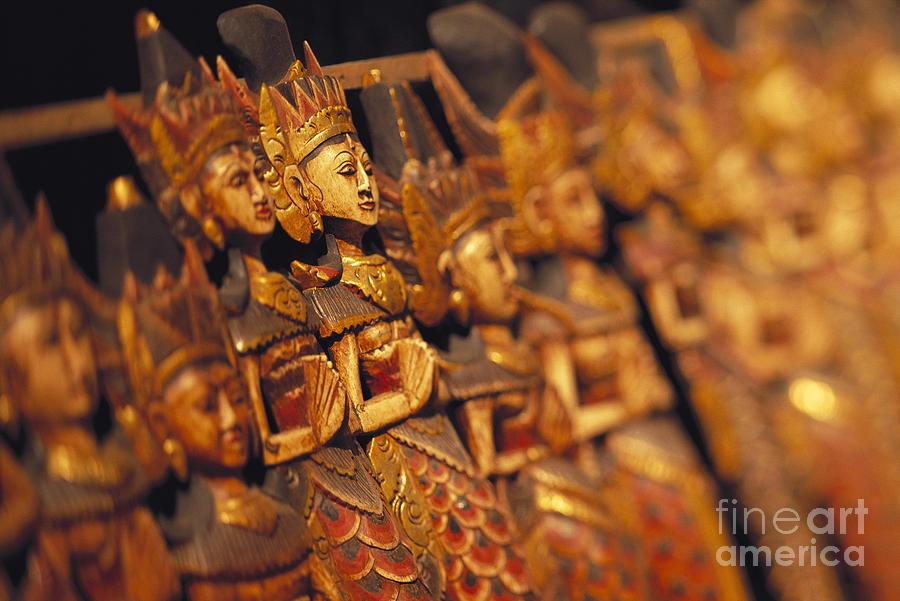 Bali Photograph - Indonesian Dolls by Dana Edmunds - Printscapes