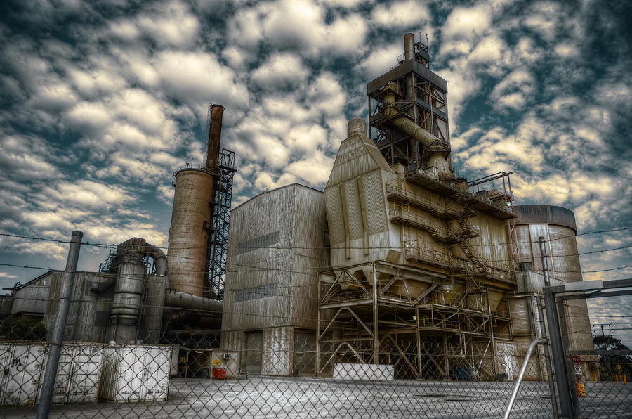 Industry Photograph - Industrial Disease by Wayne Sherriff