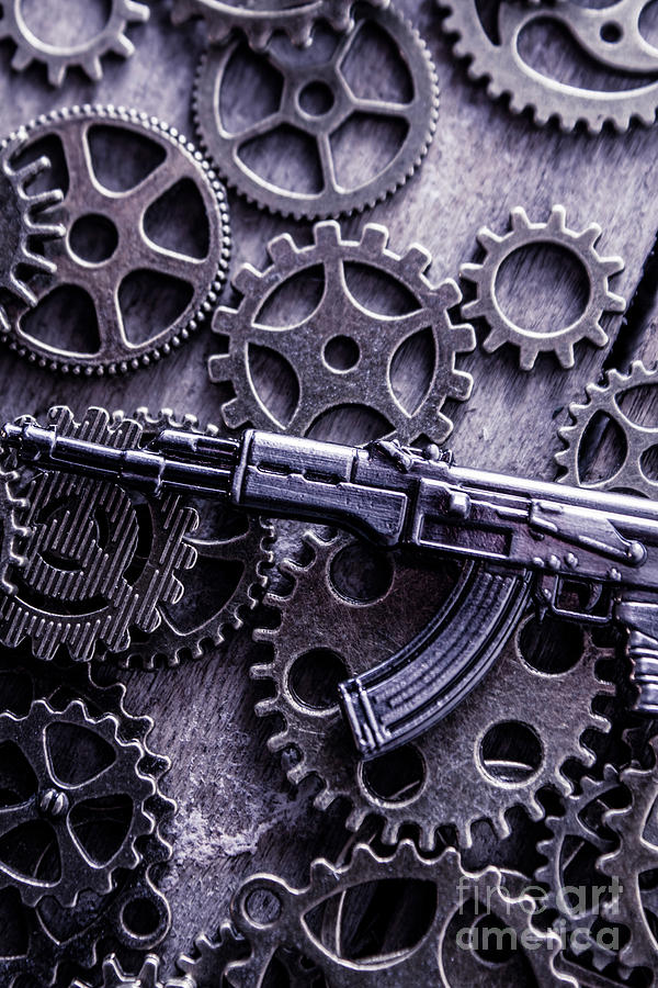 Tactical Photograph - Industrial Firearms  by Jorgo Photography - Wall Art Gallery