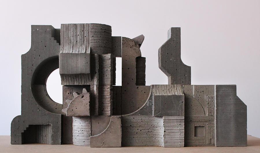 Architecture Photograph - Industrial Landscape 1 by David Umemoto