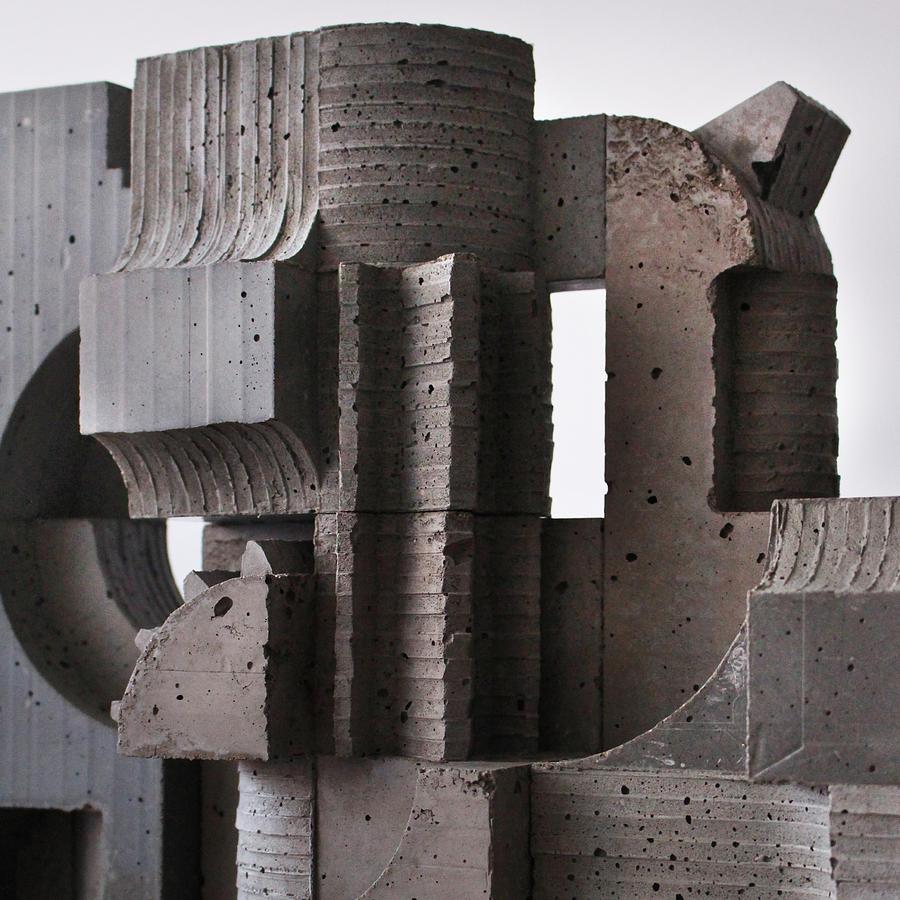 Architecture Photograph - Industrial Landscape 2 by David Umemoto