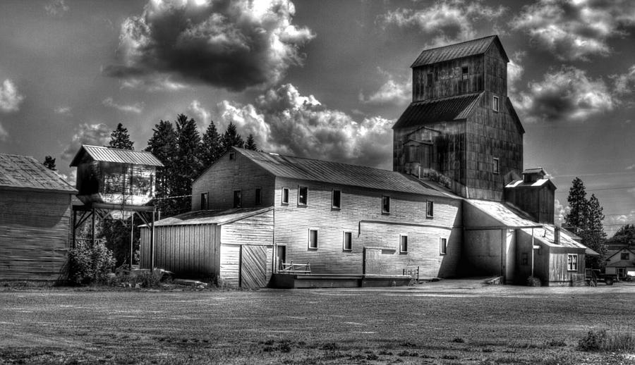 Industrial landscape in black and white 1 photograph by lee santa