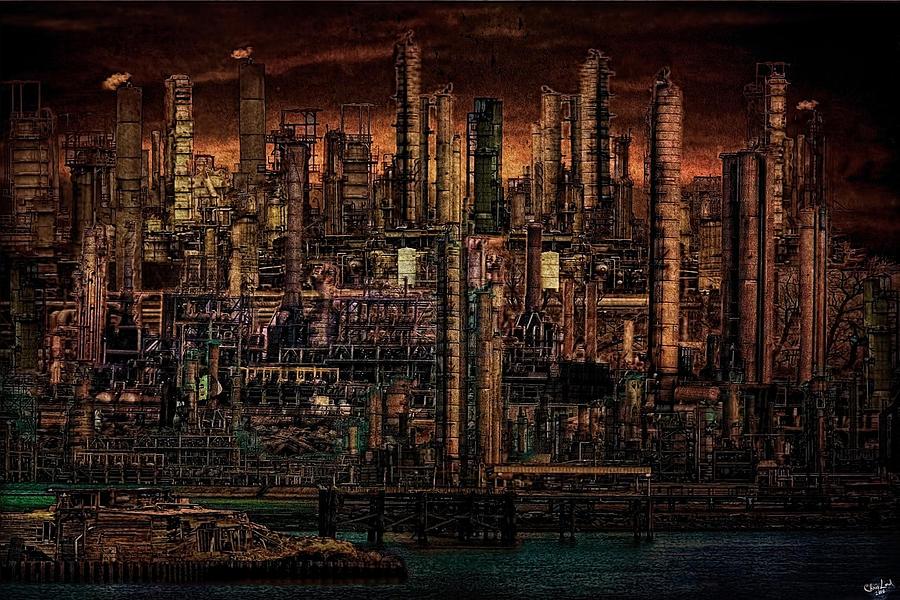 Industrial Psychosis Digital Art By Chris Lord