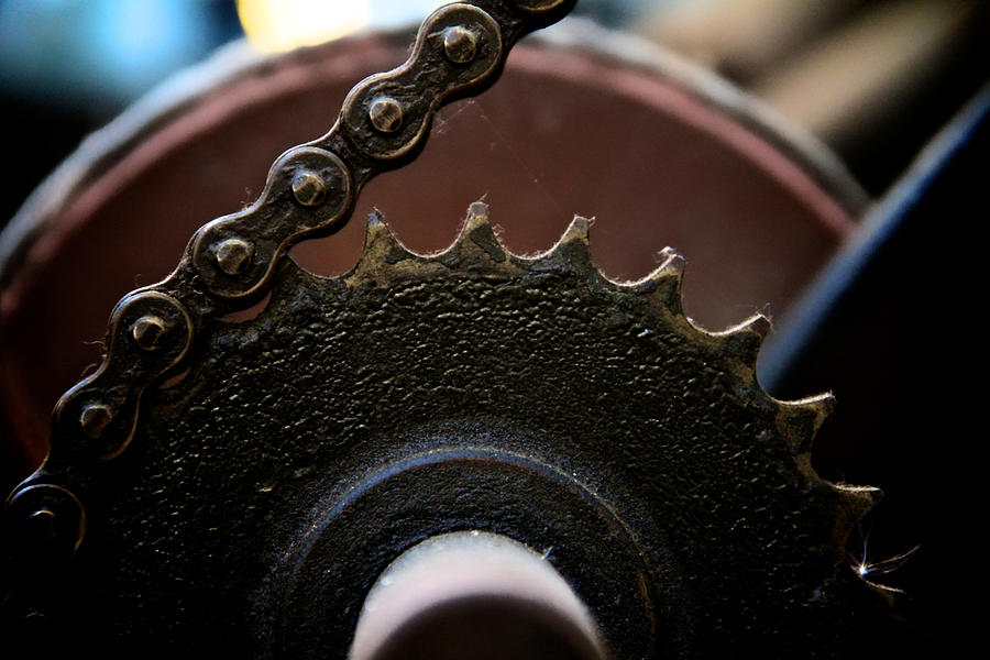 Machinery Photograph - Industrial Revolution by Odd Jeppesen