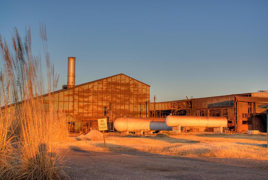 Industry Photograph - Industrial Site 1 by Douglas Barnett