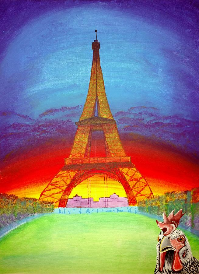 Indy Goes to Paris by Bennie Giles