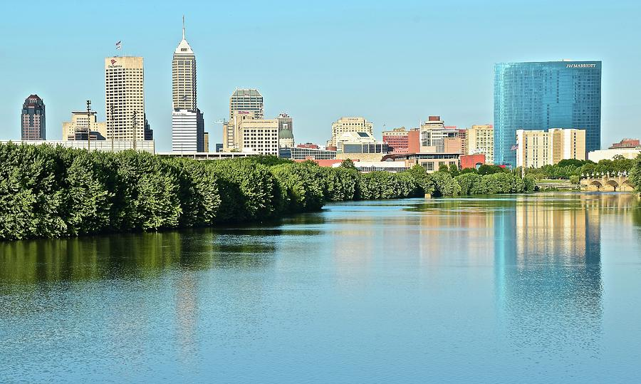 Indy White River View Photograph