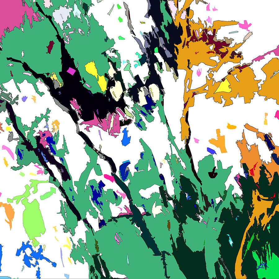 Abstracts Digital Art - Wild Prosperity by Linda Mears
