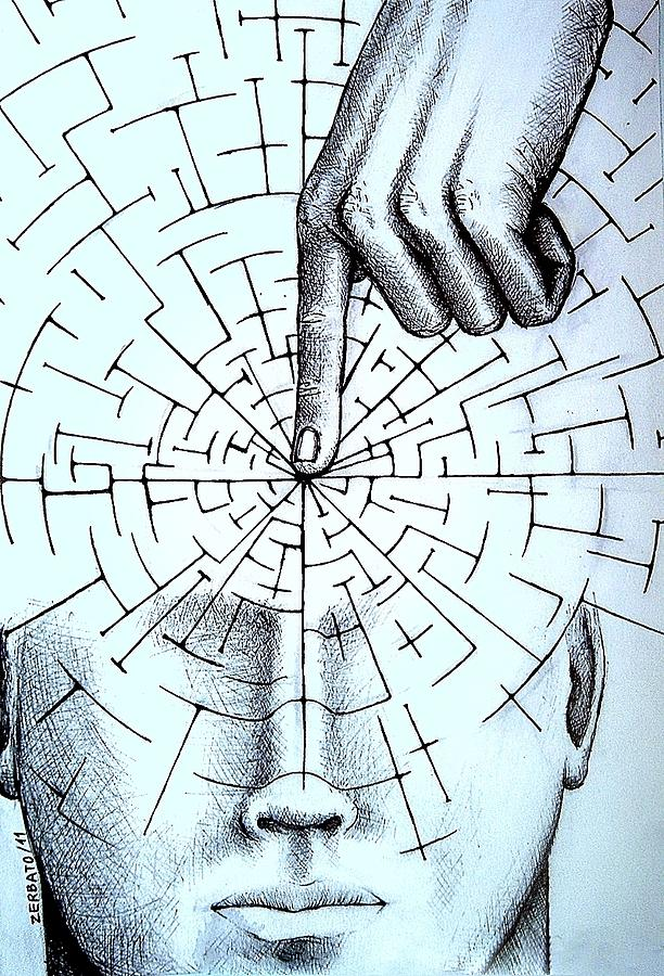 Objectivity Digital Art - Infer About The Reality by Paulo Zerbato