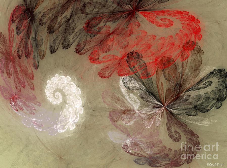 Digital Digital Art - Infestation Of The Mind by Deborah Benoit