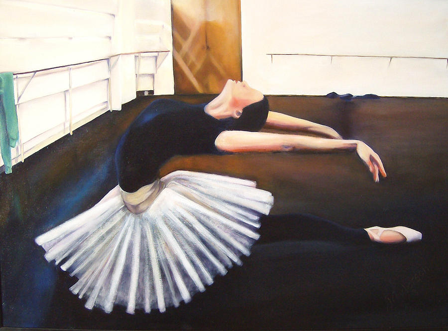 Dancer Painting - Infinite Expression by Johnnie Anderson