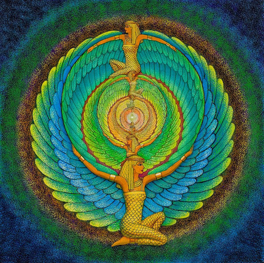 Meditation Painting - Infinite Isis by Sue Halstenberg