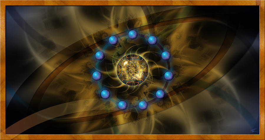 Lotus Digital Art - Infinite Lotus by Kenneth Armand Johnson