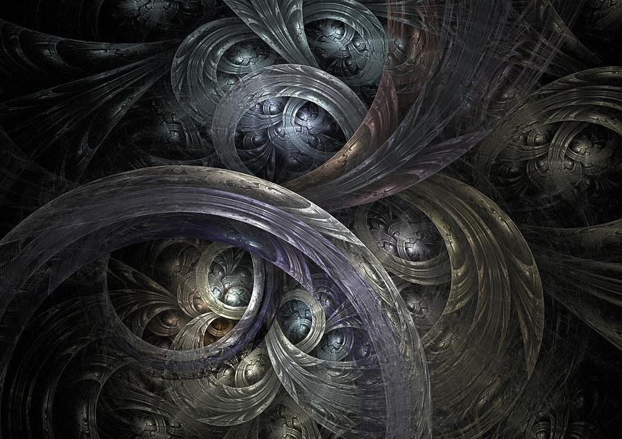 Abstract Digital Art - Infinite On-ramps by David April