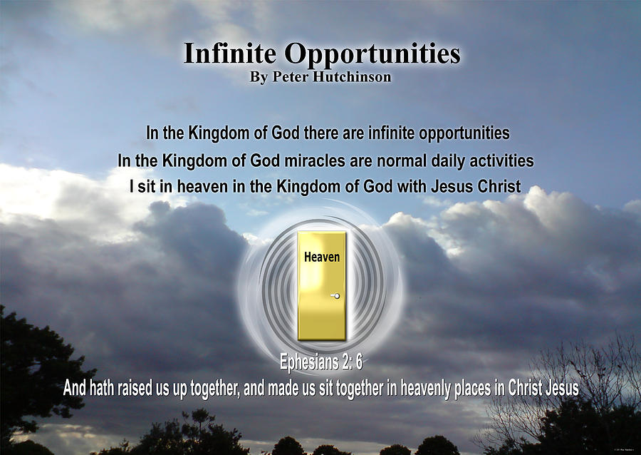 Infinite Opportunities by Peter Hutchinson