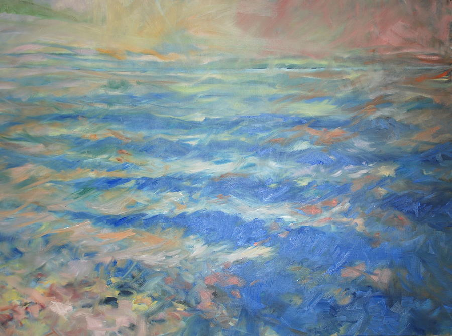 Seascape Painting - Infinity 1 by Marilyn Muller