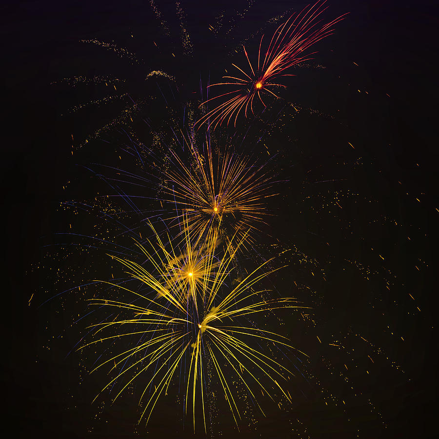 Fireworks Photograph - Infinity by Larry Helms
