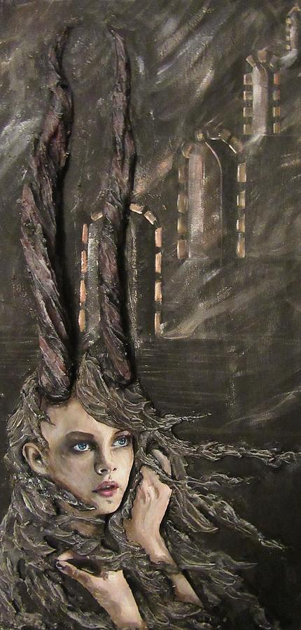 Horns Painting - Infinity Queen by J Edward Neill