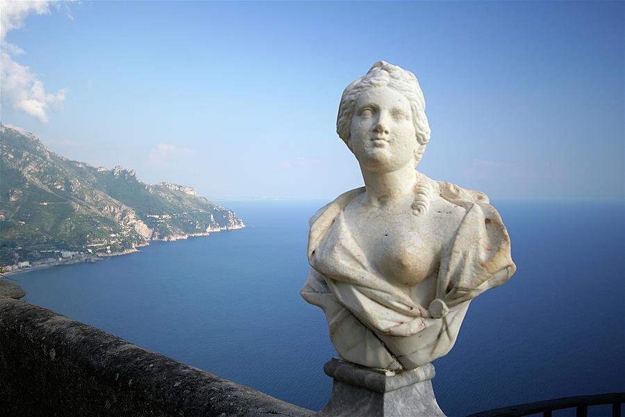 Italy Photograph - Infinity Terrace 4 by Vicki Hone Smith