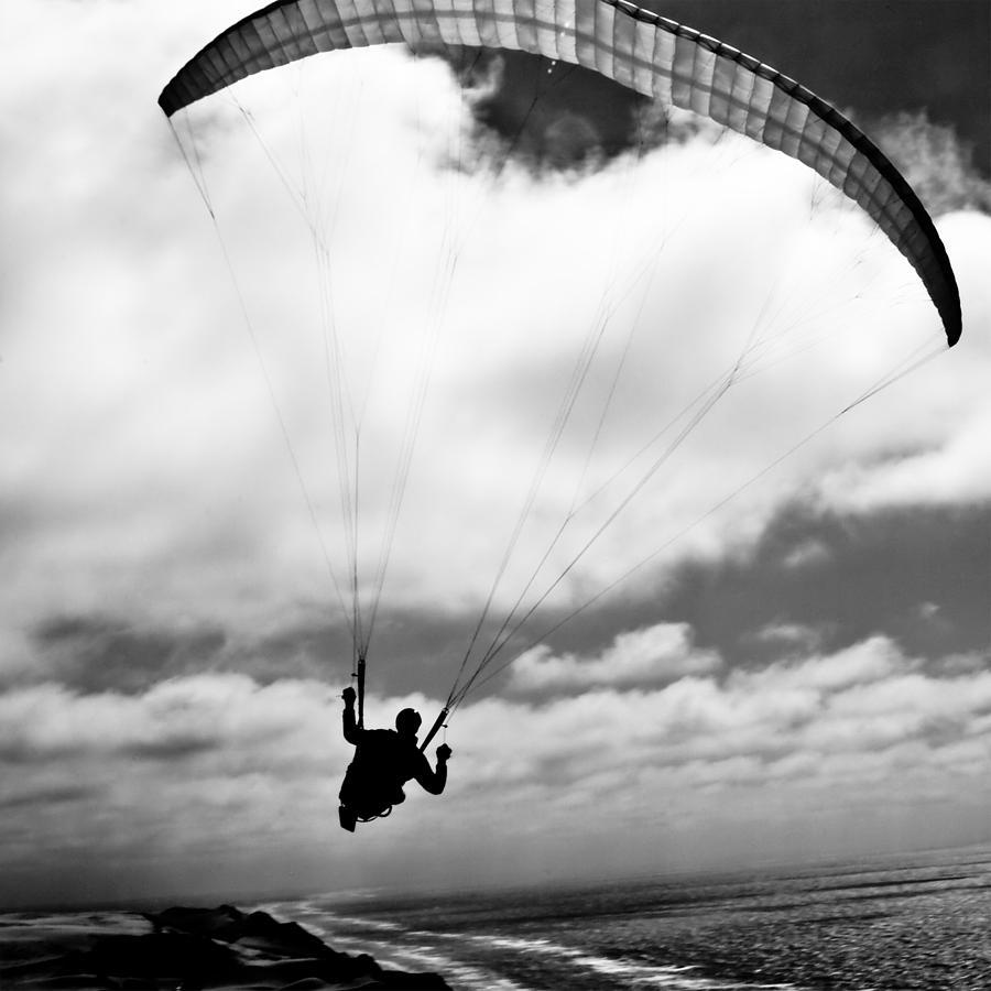 Paraglider Photograph - Infinity by Thomas Splietker