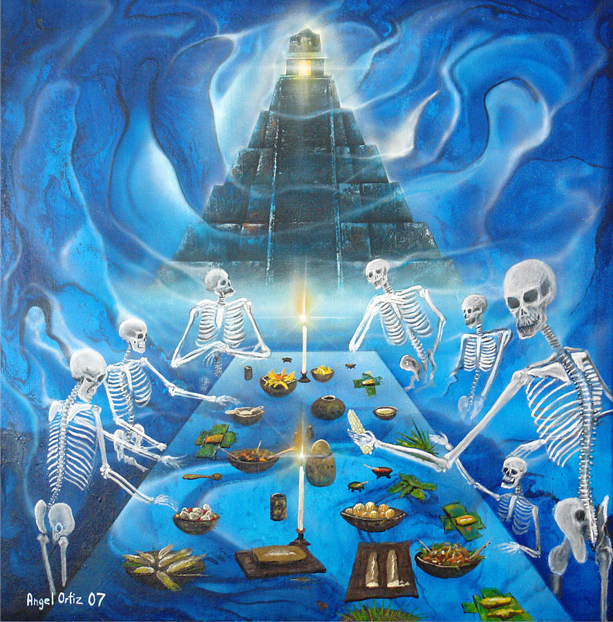 Culture Painting - Inframundo  Underworld by Angel Ortiz