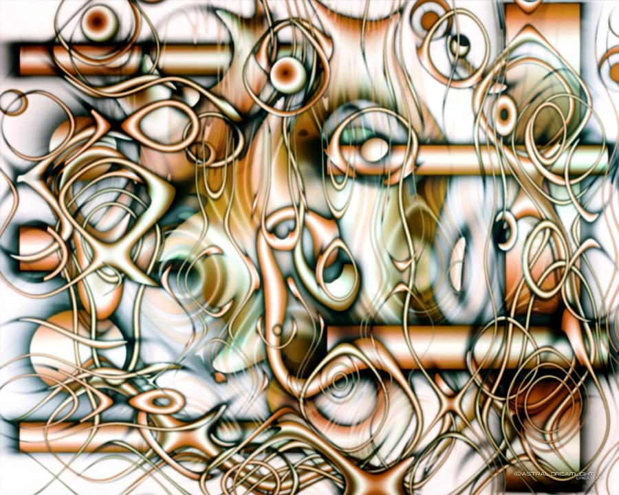 Abstract Painting - Ingenuity by Dreamlight  Creations