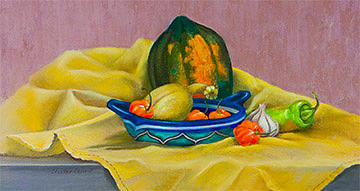 Still Life Painting - Ingredients What No Onion by Skeeter Leard