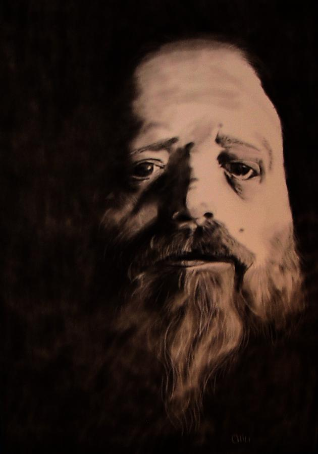 Portrait Drawing - Inhabitant by Diane Chilson