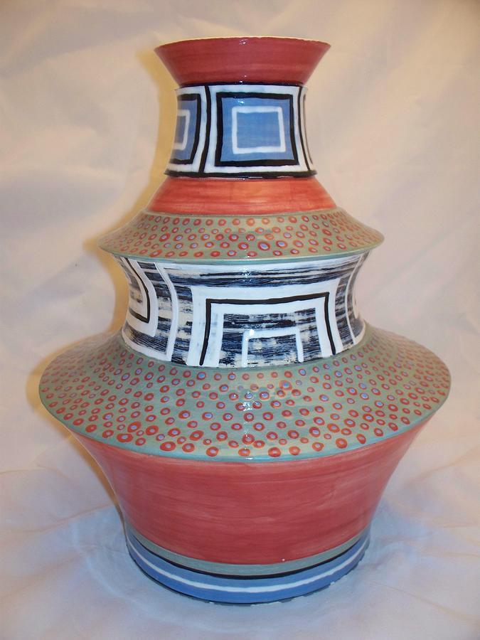 Handmade Ceramic Art - Inhale by Jason Galles