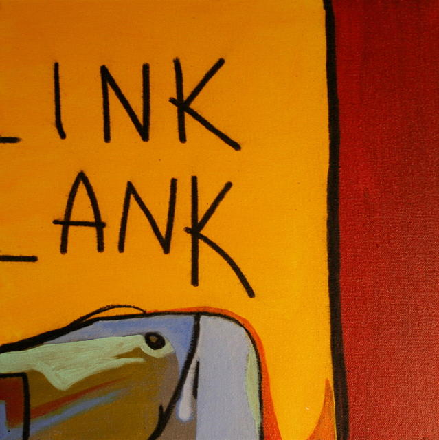 Primary Colors Painting - Ink Ank by Frank  Juarez