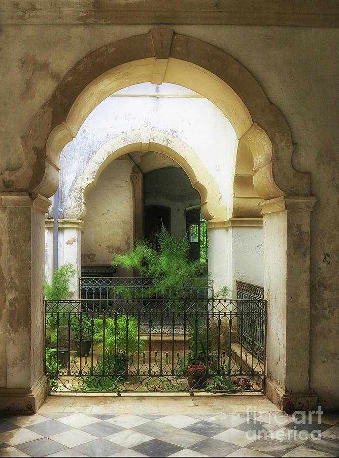 Inner Courtyard by Vivian Christopher