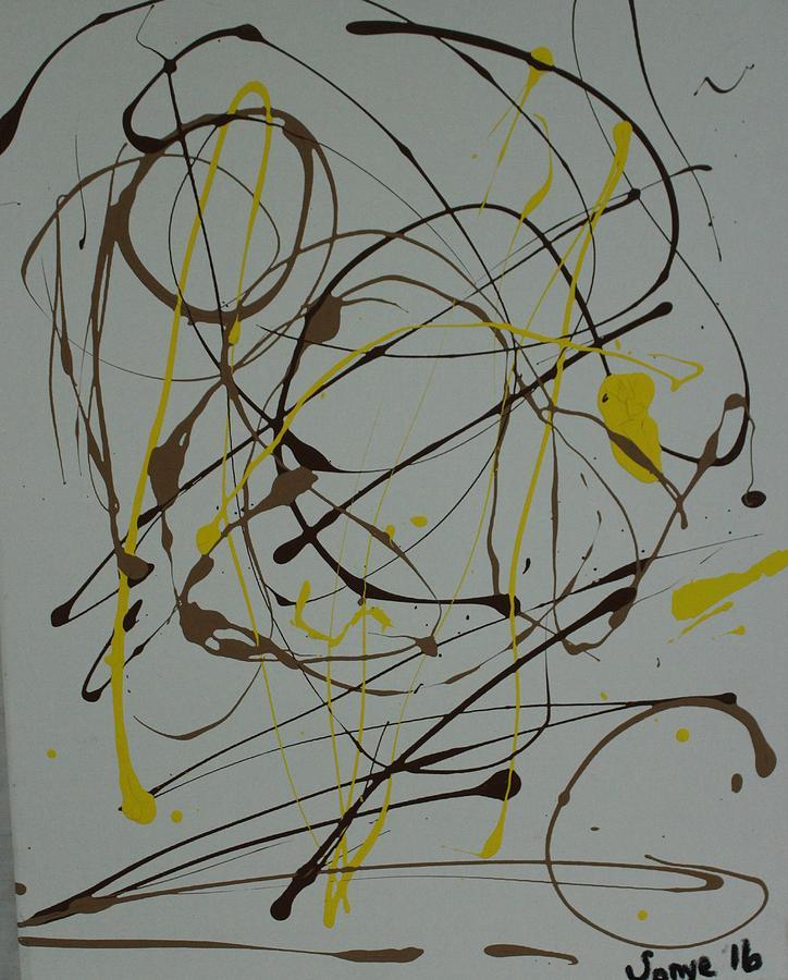 Inner G Painting by Sonye Locksmith