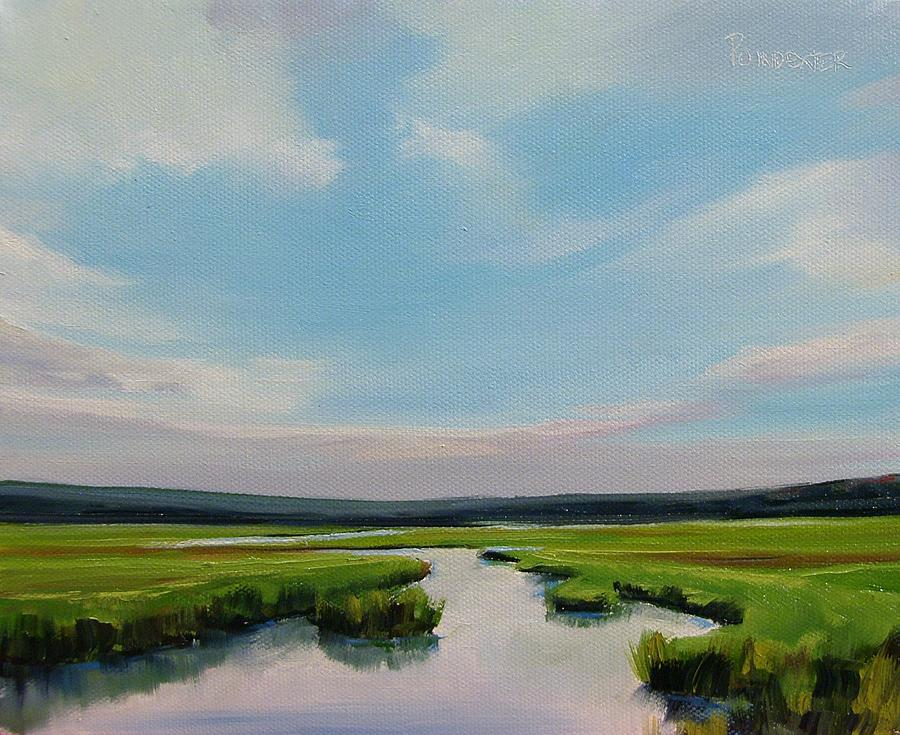 Wetlands Painting - Inner Harmony by Dianna Poindexter