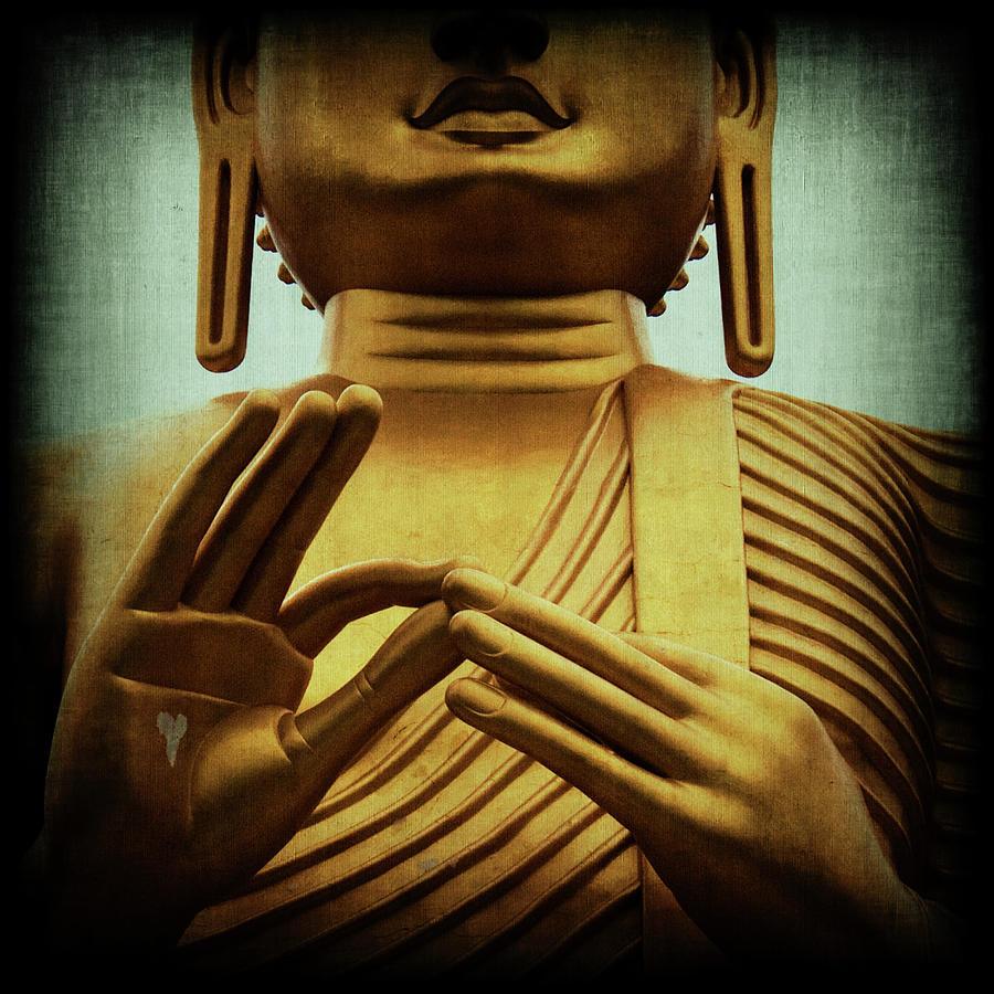 Buddah Photograph - Inner Sanctum by Andrew Paranavitana