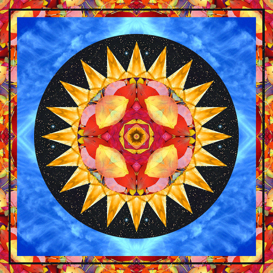Chakras Photograph - Inner Sun by Bell And Todd