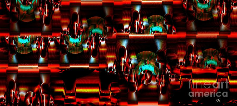 Abstract Photograph - Inner Workings by Ron Bissett
