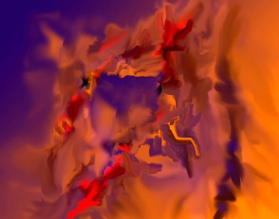 Abstract Digital Art - Inning325 by Carlos Contreras