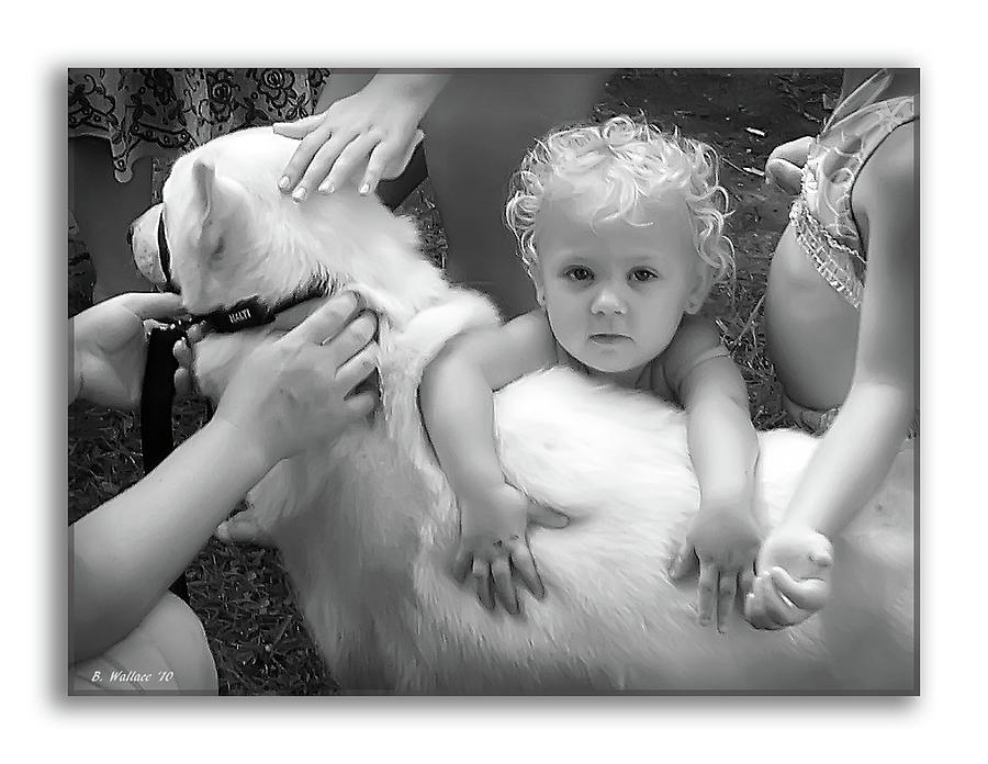 2d Photograph - Innocence And Love by Brian Wallace