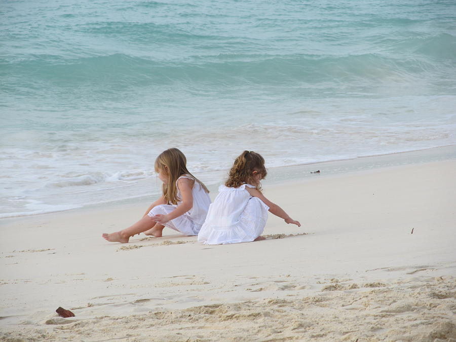 Aruba Photograph - Innocence By The Sea by Gregory Armstrong