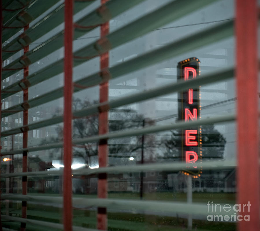 Lancaster Photograph - Inside The Diner by Kathy Jennings
