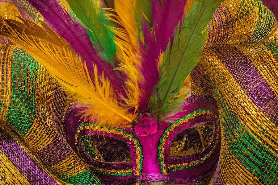 Masquerade Photograph - Inside The Masquerade by Julie Andel