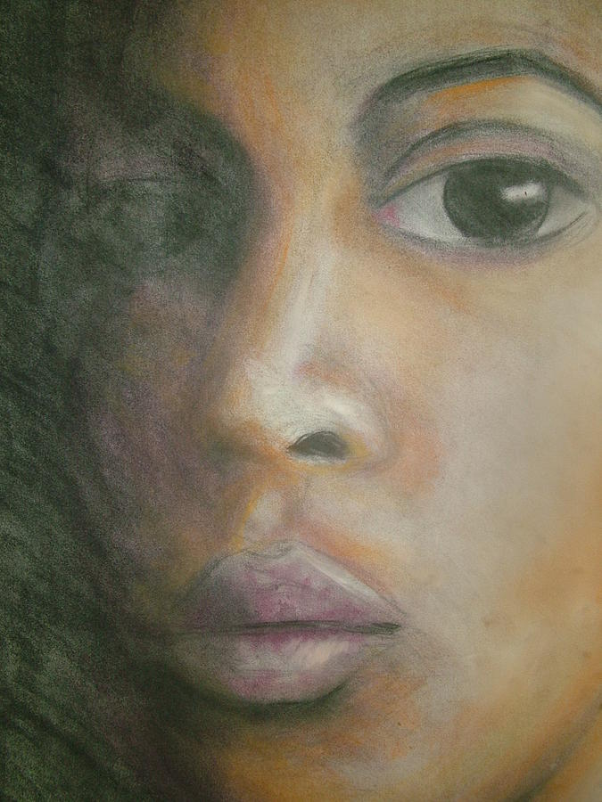 Inside The Soul Drawing by Jan Gilmore