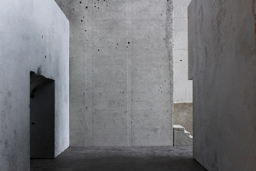 Architecture Photograph - Inside The Walls 1 by David Umemoto